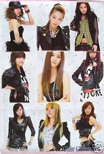 "GIRLS GENERATION ""9 GLAMOUR SHOTS OF THE GROUP"" POSTER - Sexy Korean K-Pop Music"