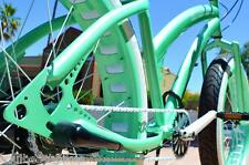 26x4 Fat Tire Beach Cruiser Bike - SOUL MISS STOMPER - MINT GREEN SINGLE SPEED