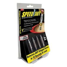 New As Seen on TV Speed Out, Remove Screws Without Drilling