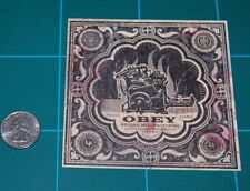 Shepard Fairey Obey Giant Print and Destroy Album Cover Mini Print Showcard 2012