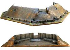 "First Legion: TER003 Artillery Redoubt with Interior Firing Step (22""x14""x4"")"
