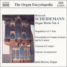 Heinrich Scheidemann: Organ Works, Vol. 4, New Music