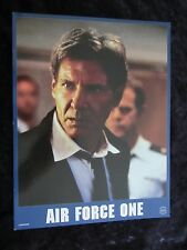 AIR FORCE ONE Original French lobby card  #7  HARRISON FORD