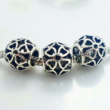 10pcs retro Tibetan silver spacer beads fit Charm European Bracelet SA98