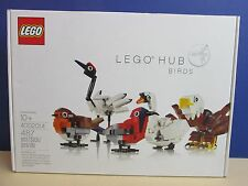 Neuf rare lego hub oiseaux exclusive employee gift set model 4002014 2014