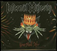 Infernal Majesty None Shall Defy CD new 2016 Reissue High Roller Records HRR 521