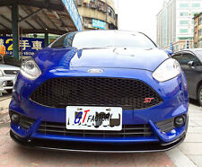 NEW FOR FORD FIESTA ST 2014 2015 CARBON FRONT LIP SPOILER T R STYLE