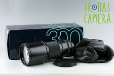 Contax Carl Zeiss T* Tele-Tessar 300mm F/4 MMJ Lens for CY Mount With Box #9968F
