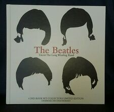 The Beatles: Uncut The Long Winding Road Hard Cover (DVD 4-Disc Set) MINT COND!!