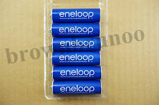 Panasonic ENELOOP Ni-MH 6 AA Rechargeable Batteries 2000 mAh Pre-Charged 4th GEN