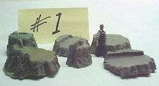 Stumps Assortment #1 cast resin All Scales see chart, O,S,HO  logging scenery