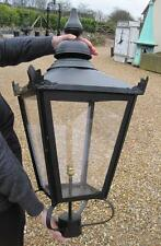Extra Large Black Square Antique Garden Outdoor Lantern - Lanterns Lights