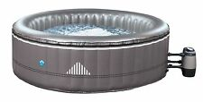 INFLATABLE ROUND HOT TUB SPA JACUZZI NETSPA MALIBU 6 PERSON & FREE CHEMICAL KIT