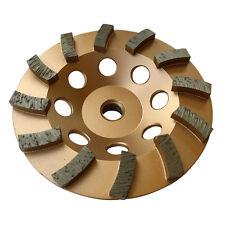 "5"" Concrete Grinding Cup Wheels 12 Diamond Abrasive Seg 5/8""-11 Arbor"