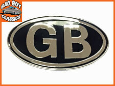 Metal GB Badge Emblem Self Adhesive Classic Car , Kit car, Hot Rod