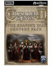 Crusader Kings II - The Reaper's Due Content Pack DLC Steam Key Code Pc