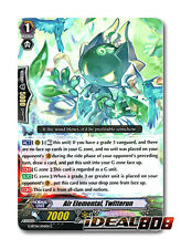 Cardfight Vanguard  x 4 Air Elemental, Twitterun - G-BT06/104EN - C Mint