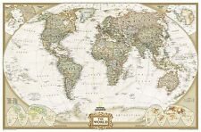 The World by National Geographic Maps (Sheet map, rolled, 2004)