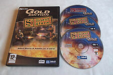 S2 SILENT STORM GOLD STRATEGY PC-CD V.G.C. ( includes expansion pack sentinels )
