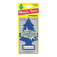 1x Magic Tree New Car Scent Air Freshener Long Lasting Frangrance New Car Smell