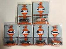 Hot Wheels RLC Gulf Oil Racin -VW Drag Bus, Camaro, Rocket Oil, Drag Beetle, etc