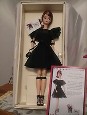 BARBIE SILKSTONE CLASSIC BLACK DRESS ITALIAN DOLL CONVENTION IDC 2016 NRFB