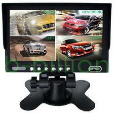 7 Pouces VOITURE RCA AV 4 canaux vidéo LED écran De Récul TFT LCD Moniteur FR