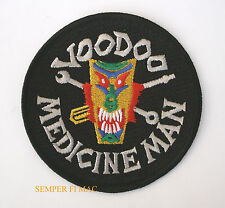 F101 VOODOO MEDICINE MAN PATCH ANG US AIR FORCE VET GIFT QUILT NATIONAL GUARD