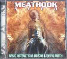 MEATHOOK SEED Basic Instructions before Leaving Earth CD NEW SEALED