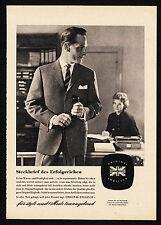 3w1832/ Alte Reklame von 1960 - ORIGINAL ENGLISCH - Für Mode tonangebend.