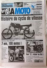 LVM - La Vie de la Moto n°281 du 15/11/2000;  Histoire du Cyclo de Vitesse