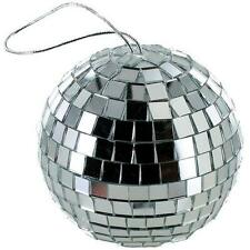 NEW 4 INCH SILVER MIRROR DISCO BALL party supplies reflection mirrors dj GLASS