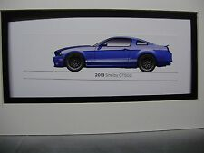 2013   Ford Mustang Shelby GT500  From  50 Year Anniversary Exhibit by artist