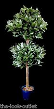 ARTIFICIAL BAY TREE (2 BUSH) WITH POT - FOR INDOOR AND OUTDOOR USE RRP: £60