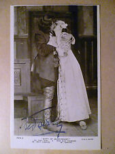 Theatr Postcard Fred Terry & Alice Crawford - Matt of Merrymount Real Signature