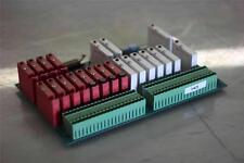 PPT Vision  411-0090  I/O Board  Rev B  w/ G4-IDC5D (x10) Relay w/ G4-ODC5 (x12)