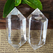 White Natural Transparent Quartz Crystal Point Cluster Crystal Rough Healing Hot