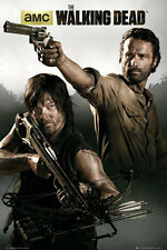 "THE WALKING DEAD - TV SHOW POSTER / PRINT (RICK & DARYL) (SIZE: 24"" X 36"")"