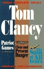 Three Complete Novels: Patriot Games, Clear & Present Danger, Sum of All Fears