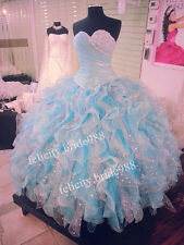 New Quinceanera Formal Wedding Dresses Evening Dress Party Prom Custom All Size