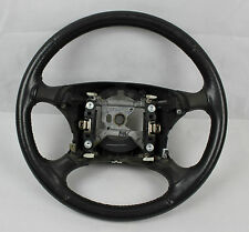 99 00 01 02 03 04 FORD MUSTANG GT DARK CHARCOAL OEM STEERING WHEEL LEATHER