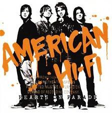 AMERICAN HI-FI - Hearts on Parade [ECD](CD 2005) USA Promo EXC-NM
