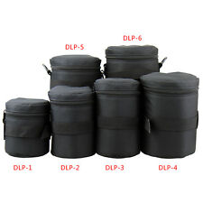 JJC DLP weather-resistant nylon Deluxe Case Pouch 6X SIZE SET for DSLR Lens