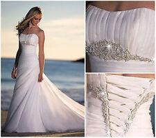 ☆☆☆ A 2014 Robe de mariée mariage soirée wedding evening dress