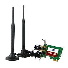 HiRO H50324 Low Profile Wireless AC1200 11ac WiFi 867Mbps PCIe 5dBi Win 10 (R)