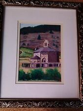"""Carol King Canton MS signed Pastel art painting picture """"Near Granada"""" # 60703"""