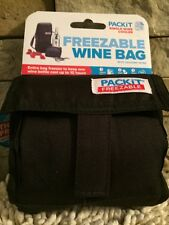 PackIt By French Bull Single Freezable Wine Bottle Bag, New