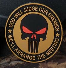 Hot  THE PUNISHER SF / SEALS Velcro Patch   SJK   230