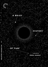 A BRIEF HISTORY OF TIME New Blu-ray + DVD Criterion Collection Stephen Hawking