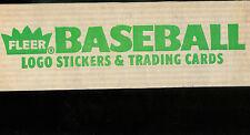 1988 FLEER BASEBALL OPENED HOBBY FACTORY SET 1-660 + WORLD SERIES SET 1-12